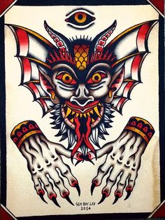 devil tattoo traditional - Buscar con Google