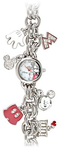 Icon Charms Mickey Mouse Watch thestylecure.com