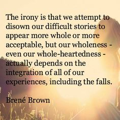 Brené Brown on owning our story                                                                                                                                                                                 More