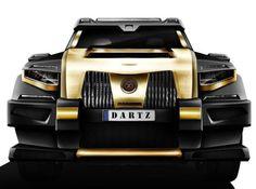 Бронированный внедорожник Dartz Black Snake комплектуется черной икрой. Донором 5,5-литрового силового агрегата мощностью 557 л. с. послужил Mercedes GL. Массивный Dartz Black Snake разгоняется до 100 км/ч всего за 4,9 секунды. Цена машины составляет 1000000 долларов. Рижские автостроители обещают всех покупателей своего нового бронированного внедорожника ежемесячно на протяжении двух лет снабжать черной икрой совершенно бесплатно.
