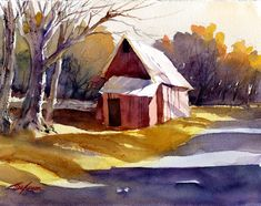 """Tony Conner - """"Red Shed"""""""