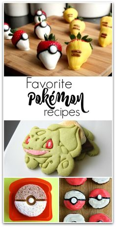 With all the craze about Pokémon GO, I thought some Pokemon recipes were in order. My kids have been excited about this game for well over a year, and love that it's everything they hoped it would be.