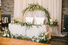 Head Table Wedding, Wreaths, Home Decor, Door Wreaths, Deco Mesh Wreaths, Interior Design, Home Interior Design, Floral Wreath, Home Decoration