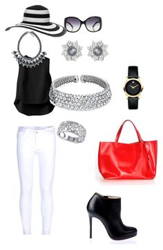 Designer Clothes, Shoes & Bags for Women Summer Chic, Frame Denim, 3.1 Phillip Lim, Bling Jewelry, Jay, Christian Louboutin, Shoe Bag, Polyvore, Stuff To Buy