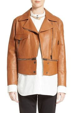 Belstaff Avenhan Double Face Leather Jacket available at #Nordstrom