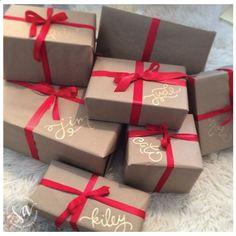 :Christmas gift wrapping: