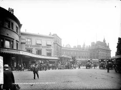 London Bridge Station, c 1885