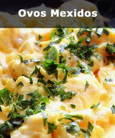 Ingredientes : 1 colher  de sopa de manteiga / 4 ovos /  2 colheres de sopa de creme de leite / ervas, sal e pimenta-do-reino a gosto.