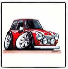 Cute cartoon mini