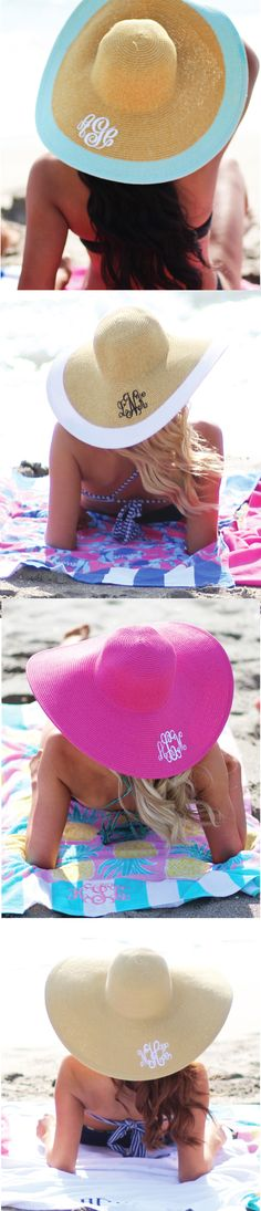 Derby Season & Beach Breezin'!! Get your floppy hats for both occasions!!