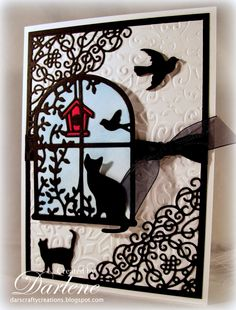 Dar's Crafty Creations: A day in the life of a cat . . .