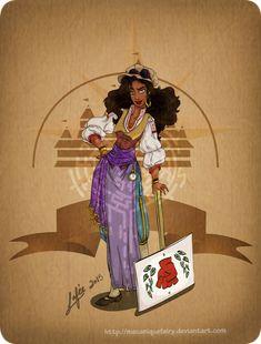 Disney steampunk: Esmeralda by MecaniqueFairy.deviantart.com on @DeviantArt