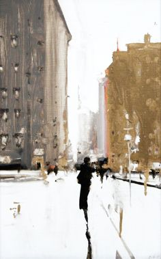 City Study 10 | From a unique collection of figurative paintings at https://www.1stdibs.com/art/paintings/figurative-paintings/