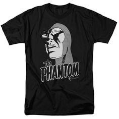 The Phantom Comic EVILDOERS BEWARE Licensed Adult Long Sleeve T-Shirt S-3XL
