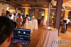 Meagan and Ryan's Wedding at Kitchen Chicago and City View Loft - MDM Entertainment Chicago Wedding Venues, Unique Wedding Venues, Loft Wedding, Lofts, Entertainment, Weddings, Night, City, Kitchen