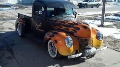 flames on old cars | Classic Cars 1925-1948 Ford : Other Pickups N/A 1940 FORD free ...
