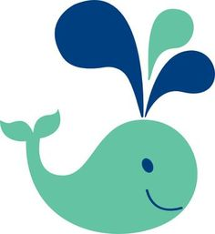 baby whale clip art little light blue whale clip art baby shower rh pinterest com