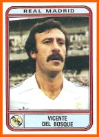 VICENTE DEL BOSQUE Real Madrid (1981)