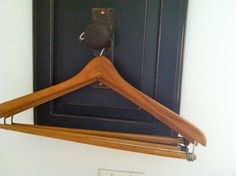 Vintage Wood Hanger by WildGooseChase on Etsy, $7.00