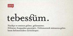 Tesbessüm (smile).