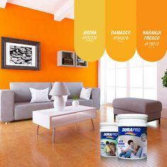 El color naranja es uno de los más energéticos. Genera optimismo y entusiasmo. DURAPRO te ofrece varios para que pintes tus espacios! probálos!  www.durapro.com.ar/simulador-de-colores Color Naranja, Table, Furniture, Home Decor, Coffee Tables, Optimism, Spaces, Mosaics, Interiors
