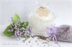 Bio Vegan Candles LAVANDA candela di soiasoya di robertakawaii