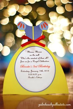 Princess Birthday Snow White Invitation by by palmbeachpolkadots, $2.50