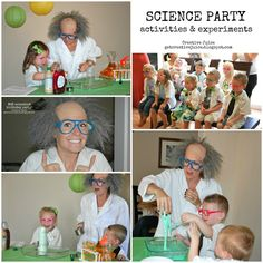 SCIENCE PARTY activities and experiments