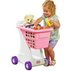 Little Tikes Shopping Cart, Pink - Walmart.com