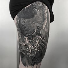 Black and grey tattoo @lubomir_palba