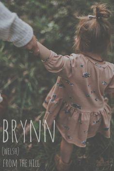 My sister has a friend named Brynn - , names girl country names girl elegant names girl pretty names girl rare names girl vintage baby names girl Cute Baby Names, Pretty Names, Unique Baby Names, Baby Baby, Baby Kids, Baby Newborn, Names Girl, Country Baby Girl Names, Southern Baby Names