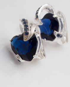 Cercei argint cod 2-2278, gr6.4 Sapphire, Rings, Jewelry, Jewlery, Jewerly, Ring, Schmuck, Jewelry Rings, Jewels