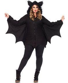 New Leg Avenue 85311X Plus Size Cozy Bat Halloween Costume