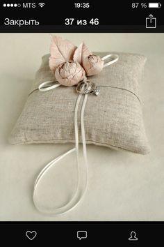 Вариант подушки для колец