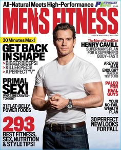 Henry Cavill covers the September 2016 issue of Men's Fitness.