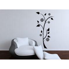 Samolepka na zeď- Květina