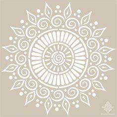 Venta de stencil con figuras de mandalas y plantillas de cenefas para decorar paredes Mandala Design, Mandala Art, Mandala Stencils, Stencil Patterns, Mandala Drawing, Stencil Art, Stencil Designs, Doodle Patterns, Dot Painting