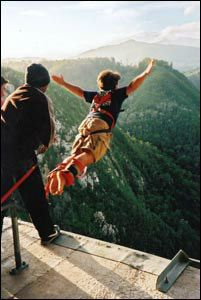 Bungie Jump -- I don't think I would be able to do it so gracefully though...