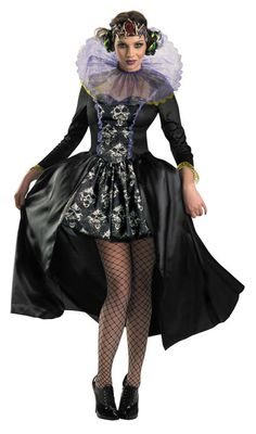 Queen of Skulls Clive Barker Dark Bazaar V&ire Witch Halloween Adult Costume #Disguise #CompleteCostume  sc 1 st  Pinterest & The 8 best costume - gothic images on Pinterest | Goth Gothic and ...