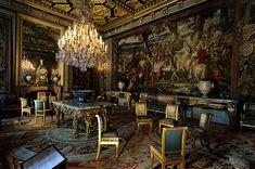 Chateau De Fontainebleau Interior | Château de Fontainebleau (Palace of Fontainebleau)