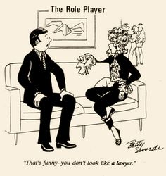 """vintage feminist gag cartoon by Betty Swords, from my interview with """"Insider Histories of Cartooning"""" author Robert Harvey..."""