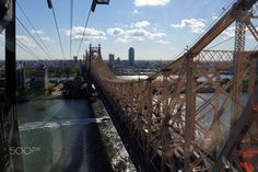 Roosevelt Island Tramway, Queensboro Bridge, New York City, United States Roosevelt Island, New York City, Bridge, United States, Canada, The Unit, Usa, Travel, Viajes