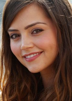 Jenna Coleman... because I need more Clara in my life!