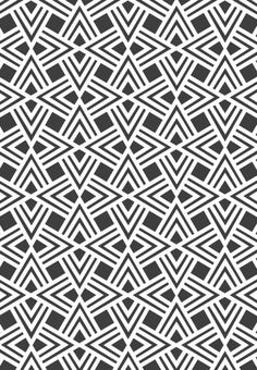 South Africa I Pattern I Geometric