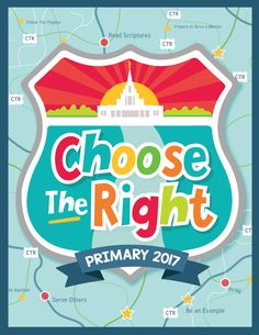 """2017 FREE """"CTR"""" Primary Printables--- These darling """"destination"""" themed designs include """"Choose the Right"""" posters, binder covers, sharing time schedules, and more! These primary printables are going to bring the """"CTR"""" theme to life this year!"""