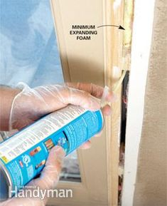 A seasoned pro shows you how to replace a front door, step-by-step, including measuring and ordering a new door, removing the old one and ensuring that the Exterior Doors, Entry Doors, Expanding Foam, House Cleaning Checklist, Covered Front Porches, Home Fix, Old Ones, Home Repair, Clean House