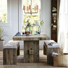 Dining Room Table Centerpieces for Home Design - Home Interior Design Ideas Dining Room Table Centerpieces, Wooden Dining Tables, Dinning Table, Centerpiece Ideas, Dining Rooms, Kitchen Tables, Picture Centerpieces, Kitchen Dining, Red Centerpieces