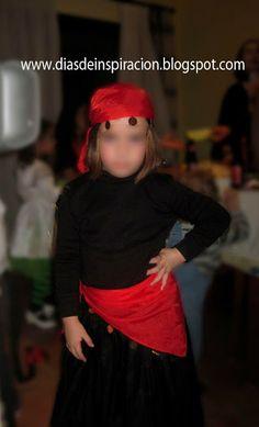 Días de Inspiración  10 ideas de disfraces DIY para Halloween. Pitonisa  Dias 43e2ad0ec20