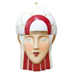 1stdibs | Very Rare Original Robj Bonbonniere Candy Jars French Art Deco