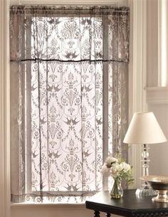 Downton Abbey Lace Curtains